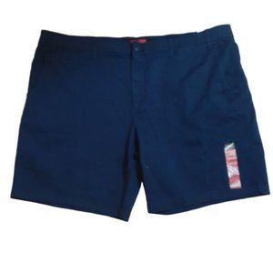 Foundry Navy Blue Cargo Shorts NWT Size 54 Stretch